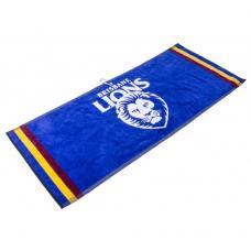 AFL Jacquard Golf Towel - Brisbane Lions