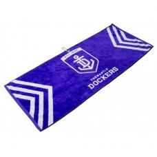 AFL Jacquard Golf Towel - Fremantle