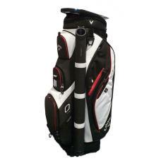 Callaway Forrester 2019 Cart Golf Bag - Black/White/Red