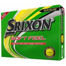 Srixon Soft Feel Golf Balls - Yellow - New 2020